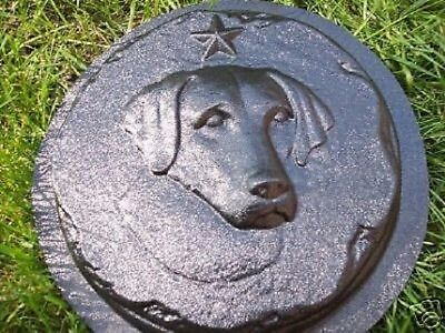 Lab Labrador dog mold mould reusable casting plaster concrete resin for sale  Shipping to India