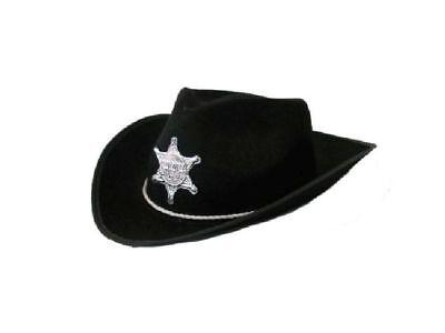 FM - Kinder Karneval Cowboyhut mit Stern Gr. 56/57 Zubehör zum Kostüm