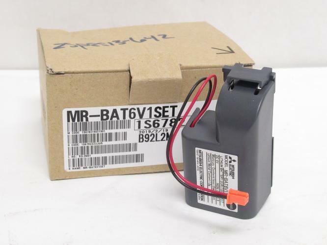 193002 New In Box, Mitsubishi MR-BAT6V1SET PLC Battery 2CR17335A WK17, 6VDC