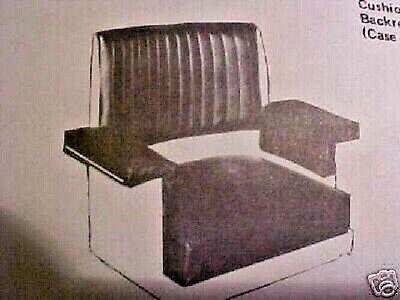John Deere 420-430-440-1010-2010 Crawler Seat New Made In The Usa