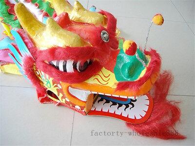 Chinese dragon Dance Costume for one children Wool Costume kids dress Folk - Dragon Costume For Kids