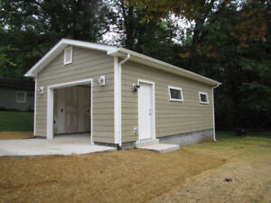 Need a New Shed or Detached - Garage ? PC&D