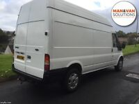 *MAN & VAN SOLUTIONS*- AVAILABLE 7 DAYS - SHORT NOTICE/ SINGLE ITEMS TO FULL HOUSE REMOVALS