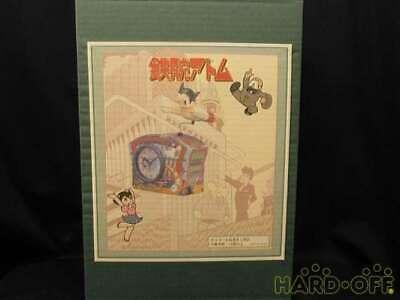 Astro Boy Tin Music Box Alarm Clock Mighty Atom in Box Limited Good Item F/S