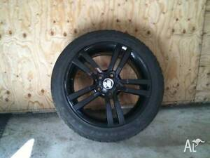 WANTED Holden Commodore VX BLACK SS WHEEL Cooks Hill Newcastle Area Preview