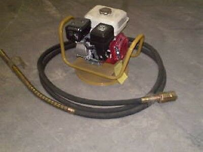 CONCRETE VIBRATING POKER petrol poker unit + 6m poker