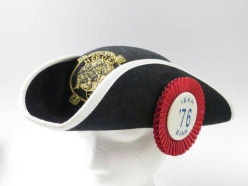 Heros of 76 Tricorn Hat, Ceremonial Freemasons / National Sojourners 2017-105X