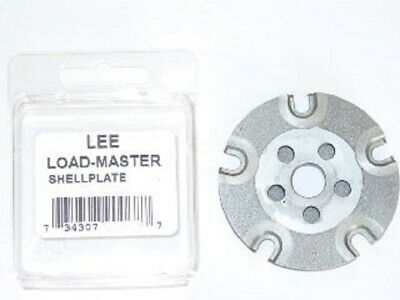 Lee 90920  Load Master LM Shell Plate #19s 9mm Luger, 40 S&W & 38 Super Lm Shell Plate