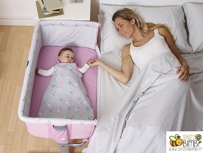 Chicco Mini Lettino Culla co-sleeping Next2Me Princess
