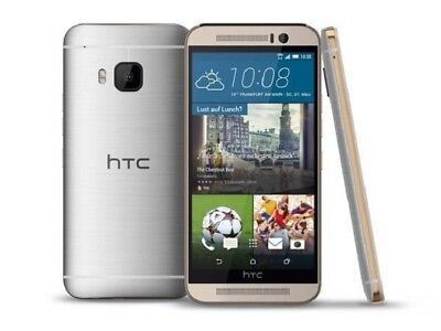 HTC One M9 32GB Gold on Silver T-Mobile Excellent Condition Smartphone