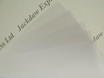 50 x A5 Vellum Translucent Tracing Paper 150gsm