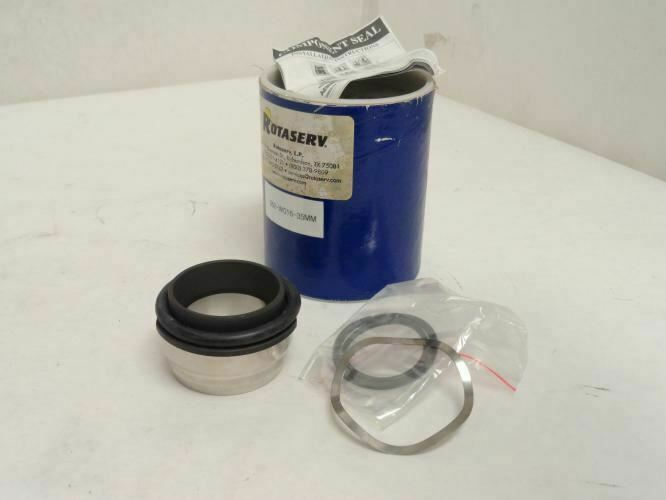 209061 New In Box, Rotaserv 062-W016-35MM Seal Kit, Steel/Carbon/EPR, 35mm