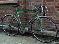 French vintage road bike PEUGEOT frame size 23inch 12 speed, serviced - WARRANTY - NEW TYRES BRAKES