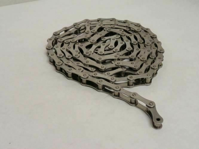 208677 Old-Stock, Tsubaki RS.2040 Riveted Roller Chain # 40, Double Pitch, SS-30