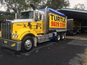 Truck Driver - Truck and Dog(Turtle Landscape Supplies)