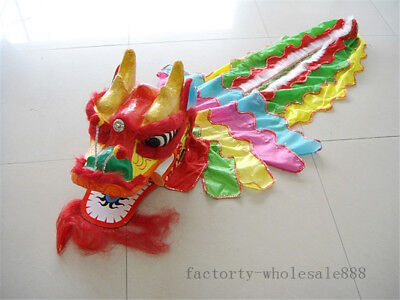 Chinese Folk Art Dragon Dance Costume For One Children Wool Kids Cosplay Outfits - Chinese Outfit For Kids