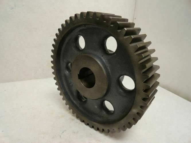 """208617 Old-Stock, Boston YK50B-1-7/8 External Tooth Spur Gear 50 Tooth, 1-7/8""""ID"""