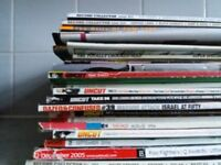 40+ Bundle of Rock/Metal/Uncut/Guitar/RIP/RAW/Metal Hammer etc Magazines 80's/90's/00's