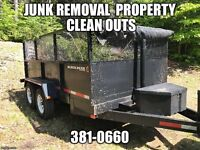 Junk removal - Property clean outs