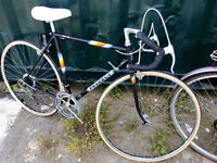 French racing bike PEUGEOT Cro-Mo frame size 23inch Mint condition like NEW, serviced with NEW TYRES