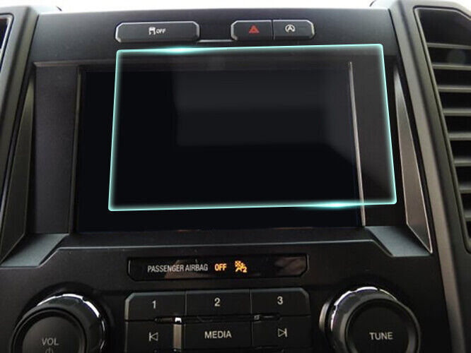 Crystal Clear Screen Protector for 2020 Ford F-150 8in Vehicle Navigation