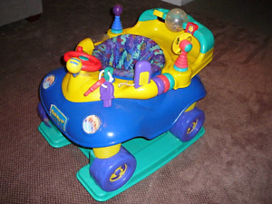 Large Evenflo Large Exersaucer Car Type  Baby out grew it  In gr
