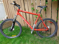 DEVINCI all terrain bike, front/back HYDRAULIC DISC brakes