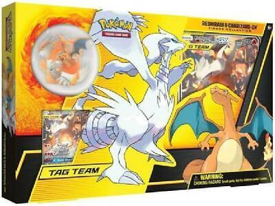 Reshiram & Charizard GX Figure Collection Box (Pokemon) Sealed Pokemon H8Y