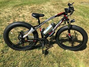 Weekly promo! 26 Aluminum Alloy  48V 350W Fat  Tire Ebike, electric bike,$1499(was$1999)