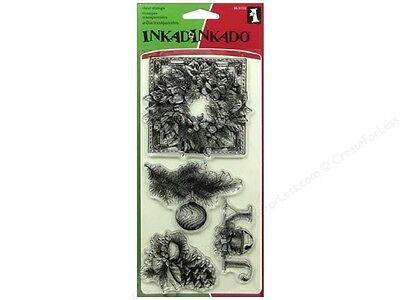 Inkadinkado Clear Stamps - Evergreen Holiday (60-31153) #1512