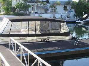 Pontoon Boat Triple Hull Paradise Point Gold Coast North Preview