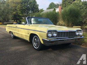 Convertible Impala SS or Ford Galaxie Wanted 1959 to 64