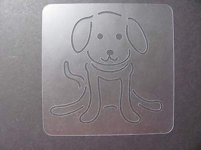 STENCIL #480 Puppy Dog Outline Made in USA New