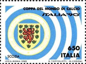 # ITALIA ITALY - 1990 - Scotland Scozia World Football Soccer Calcio - Stamp MNH - Italia - L'oggetto può essere restituito - Italia