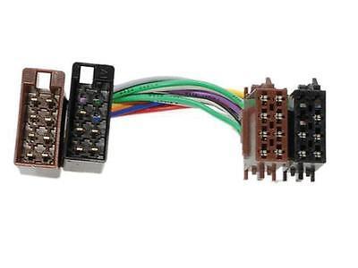 XTRONS UNIVERSAL CAR RADIO MALE ISO ADAPTER POWER & SPEAKER HARNESS PLUG LAED