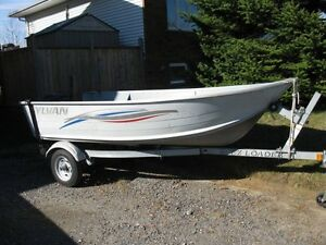 5 hp mercury outboard motor and 12' sylvan Alaskan boat 4 sale