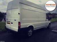 **MAN&VAN SOLUTIONS** man and van available for all types of work!