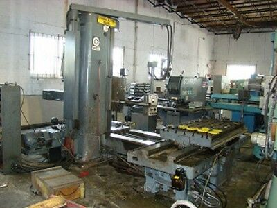4 Giddings Lewis Fraser 70a-dp4-t Table Type Horizontal Boring Mill