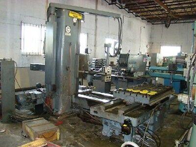 4 Giddings Lewis Fraser 70a-dp4-t Table Type Horizontal Boring Mill