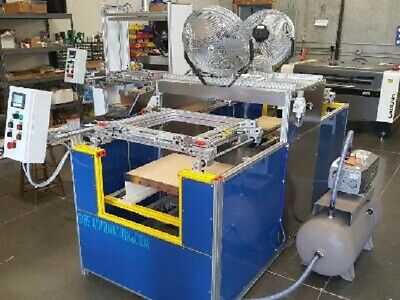 Sibe Automation Vacuum Forming Machine 24 X 24 Double Ender Infrared Heaters