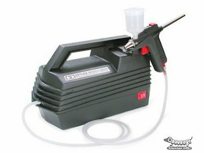 Tamiya 74520 Spray Work Basic Compressor w/Airbrush sda