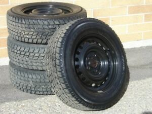 4 Winter Tires and Rims 195 65R15
