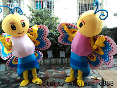 Butterfly Costume Uk (Butterfly Mascot Costume Advertising Adults Cosplay Fancy Dress Animal Parade)