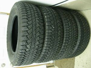 set of 4 255/70/18 Bridgestone 70% tread