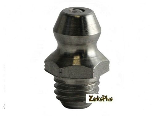 1/4-28 Taper Straight Grease Zerk Nipple Fitting 10 Pcs