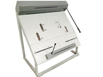 Floor Plate Punch Bender Combo For Heidelberg Sm52 Sm74 Sm102 Offset Printing