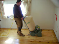 WOODEN FLOOR SANDING - DUST FREE! JUST £10 PER SQ M!