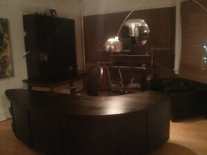 One of a kind art deco desk