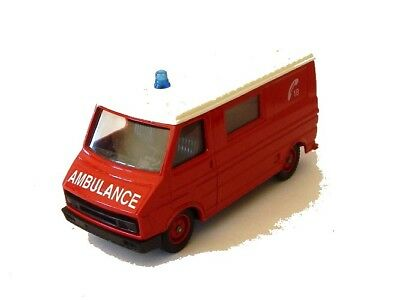 Citroën C35 Ambulance Pompiers SOLIDO