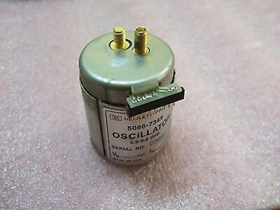 Hp Agilent 5086-7345 Yig Oscillator 5.9-9.0 Ghz Made In Usa